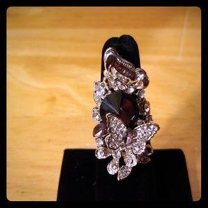 Jewelry - Amethyst/Zircon Statement Ring